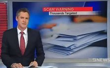 Scam Warning, Thousands Targeted - Channel 9 (26/08/2014)