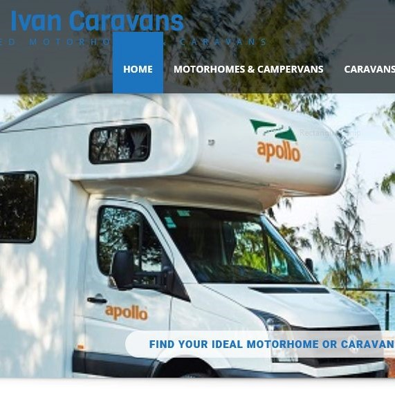 Fake caravan websites