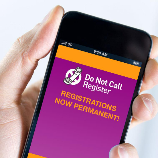 Do not call register scam