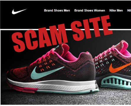 Fake online footwear site shut down by WA ScamNet