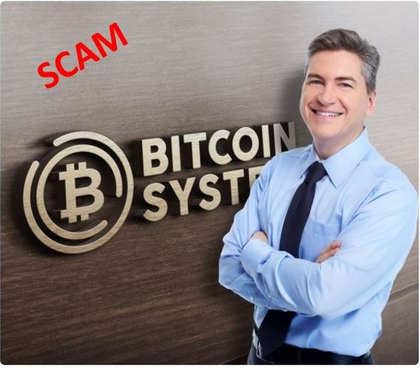 image of man from fake bitcoin system website